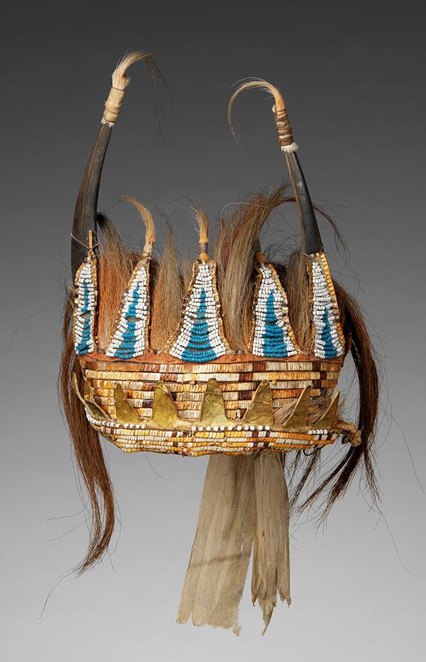 Horned Headdress, Plains Indians, Metropolitan Museum of Art
