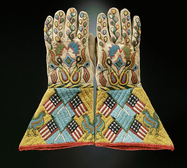 Gauntlets, Plains Indians, Metropolitan Museum of Art