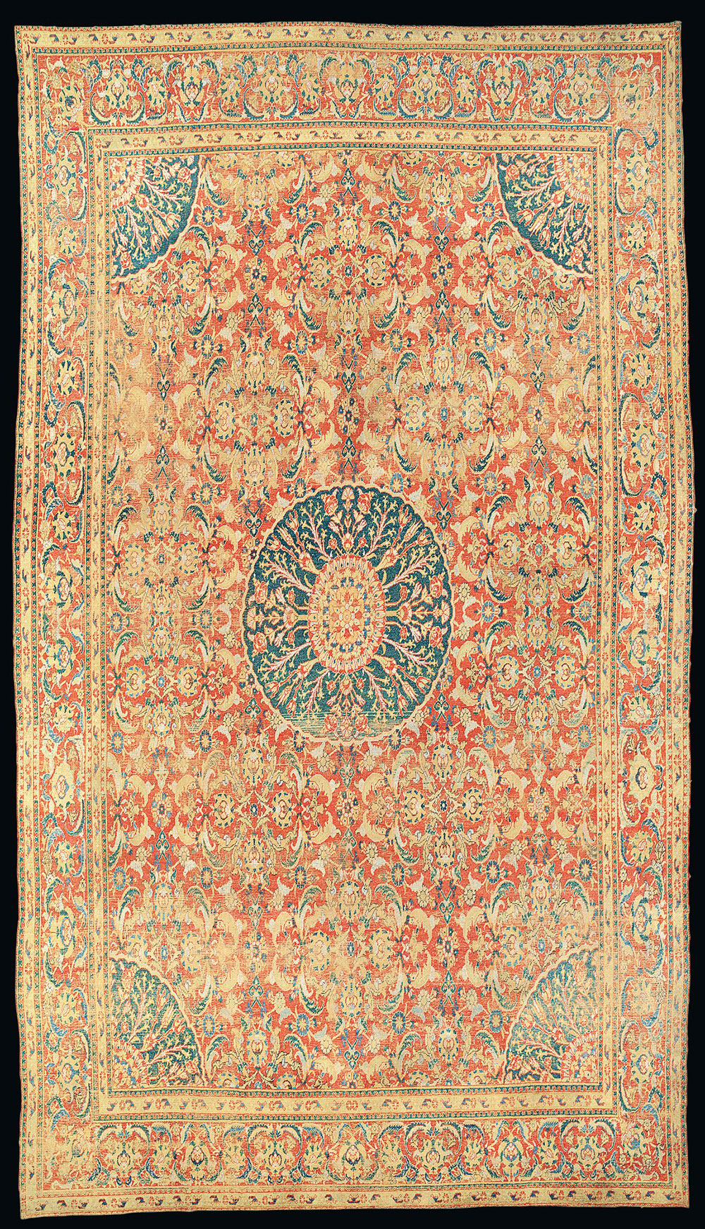 Lot 50, A Cairene Carpet, Egypt, second half 16th century, estimate £60,000-80,000, Christie's