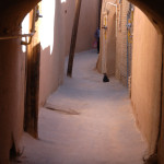 Alleyways in the Old Town in Yazd