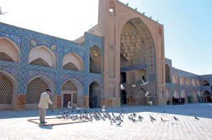 The courtyard of the Masjedeh Jomeh (Friday mosque), Esfahan