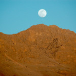 Full moonrise on the road to Shiraz