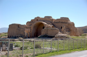 The Zoroastrian Fire Temple in Firuzabad