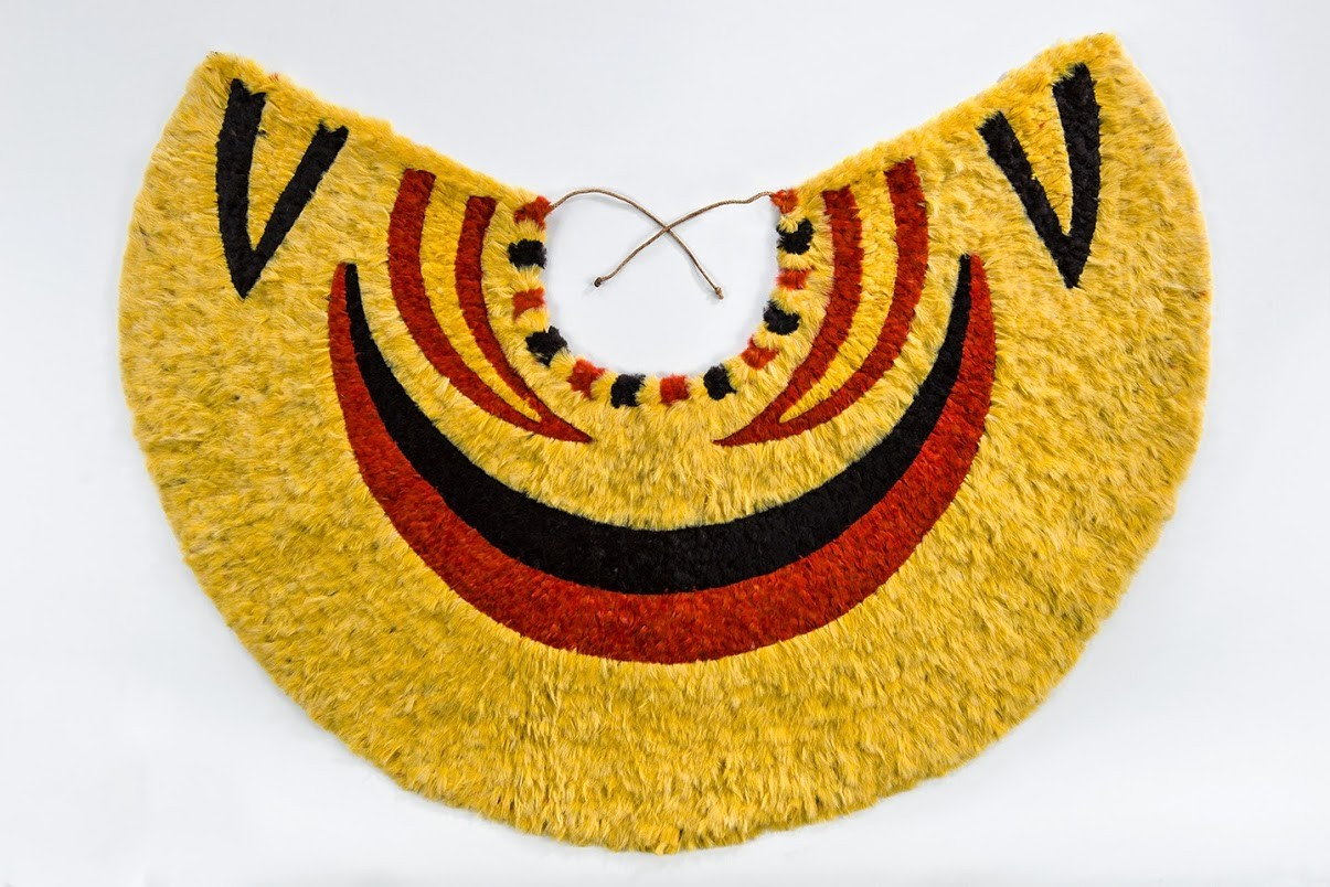 'Ahu 'ula (cape), Bernice Pauahi Bishop Museum, Honolulu, Ethnology Collection