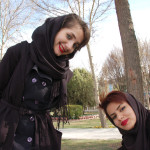 A couple of friendly Esfahan university students
