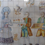 Tiles from a manor house kitchen in Valencia, 18th century, Museo de las Artes Decorativas, Madrid