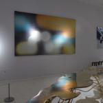 'City light 3' jacquard weaving, Grethe Soerensen, Galerie Maria Wettergren