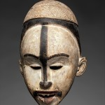 Mask, 19th–early 20th century, Democratic Republic of the Congo; Republic of the Congo; Cabinda, Angola, Kongo peoples; Yombe group, H. 11 13/16 in. (30 cm), W. 6 3/4 (17.1 cm), D. 5 1/2 in. (14 cm), Steven Kossak, The Kronos Collections, New York