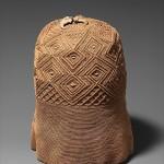 Prestige Cap (mpu), 18th century [inventory 1796], Kongo peoples,  Raffia or pinneapple fiber, leopard claws; H: 10 1/16 in. (25.5 cm), The Metropolitan Museum of Art, New York, The National Museum of Scotland, Edinburgh (1956.1153)   (K.033)