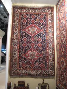 Qashqa'i rug, southwest Persia, late 19th century  Brian Macdonald