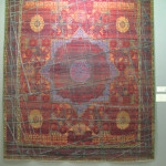Jan Kath Erased Heritage carpet with Mamluk design and silk highlights, Chris & Angela Legge
