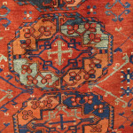 Gulli Gul detail, Ersari Turkmen carpet, 19th century, Chris & Angela Legge