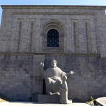 The Mesrop Mashtots Institute of Ancient Manuscripts (AKA The Matenadaran), Yerevan, Armenia. Named after the early medieval linguist, theologian and inventor of the Armenian alphabet