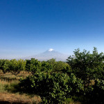 Views of Mount Ararat from Sardarapat, Armenia