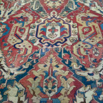 Dragon rug (detail), 17th century, Museum of Sardarapat, Armenia