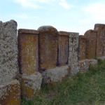 Khachkar stone crosses, Noradouz Cemetery, Armenia