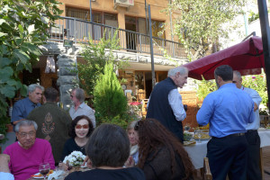Farewell reception at the Silk Road Hotel, Yerevan, Armenia