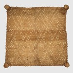 Cushion Cover, 17th–18th century, inventoried 1737, Angola, Republic of the Congo, Kongo peoples, Raffia, 21 1/4 in. (54 cm) × 21 1/4 in. (54 cm), Nationalmuseet, Copenhagen