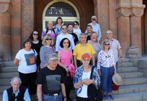 The HALI Tour group, Armenia, September 2015