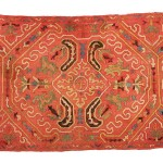 Southwest Caucasian embroidery, 18th century, National History Museum of Armenia, Yerevan