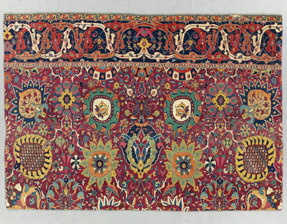 Alice De Rothschild S Vase Carpet Trio At Christie S Hali