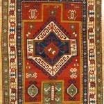 Fachralo Kazak prayer rug, ca.1880. Hagop Manoyan, New York
