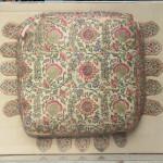 Gujarati embroidered cushion, ca.1800. Thomas Cole, 'Don't Miss India!'
