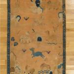 Ningxia carpet, ca.1700. Hagop Manoyan, New York