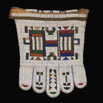 Ndebele married woman's beaded apron, Andrés Moraga