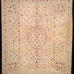 Embroidered Summer carpet, ca.1720. Thomas Cole, 'Don't Miss India!'