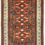 Alpan Kuba rug, 19th century