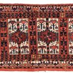 Yomut Turkmen torba, 19th century. 94 x 39 cm