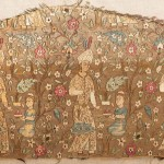 Safavid silk lampas fragment, Iran, 2nd half 16th century. 76 x 34 cm. Est. €8,000-12,000