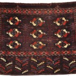 Andy Lloyd. Yomut Turkmen chuval (deep saddle-bag), mid-19th centuery. 116 x 79cm