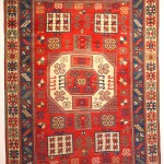 Andy Lloyd. Karachov Kazak rug, late 19th century
