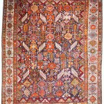 Andy Lloyd. Shekarlu rug, late 19th century, 249 x 184cm,