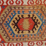 Owen Parry. Hotamis kilim detail. Early 19th century