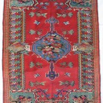 Heritage Rugs. Antique Bijar kilim