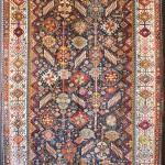 """James Cohen. Shekarlu rug, ca 1875. 5'2"""" x 7'10"""""""