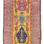 Lot 39. A NORTH WEST PERSIAN RUNNER, LATE 18TH/EARLY 19TH CENTURY. 19ft. x 3ft.6in. (578cm. x 107cm.) Christie's London, 19 April 2016, estimate £12,000-16,000