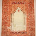 Owen Parry. 18th-century Gördes prayer rug