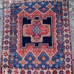 Owen Parry. Afshar rug