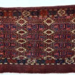 Tribal Rugs Gallery. Eagle-gol Turkmen torba, early 19th century