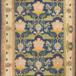Lot 1158. Donegal Arts & crafts carpet attributed to Gavin Morton, early 20th century, Sold for $31,250.