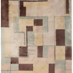 Lot 1141. Chinese art deco carpet, ca. 1920. Sold for $18,750