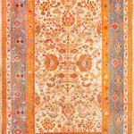 Lot 1069. Ushak carpet, west Anatolia, ca. 1920. Sold for $47500