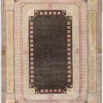 Jugendstil (Art Deco) carpet by Josef Hoffmann, Austria, ca. 1920. Sold for $52,000