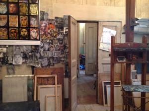Studio of Nina Kipshidze and Dato Archil Sulakauri, Tbilisi