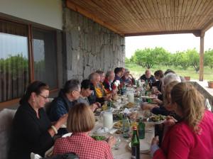 Lunch at Sardarapat