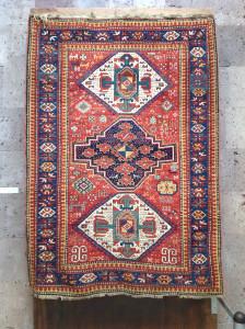 Kazak rug, Museum of Sardarapat, Armenia